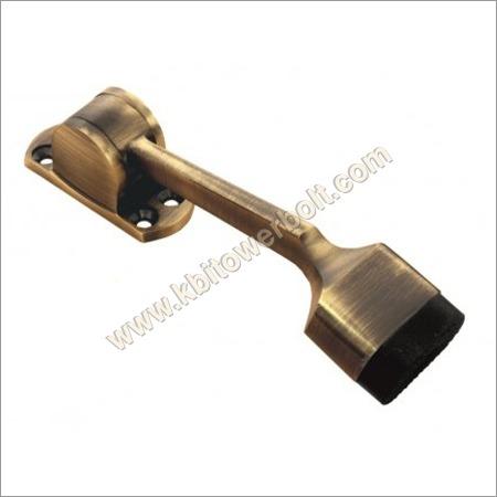 Brass Oval Door Stopper