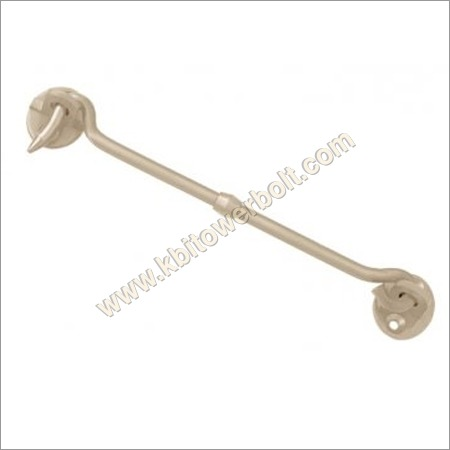 Brass Gate Hook Round