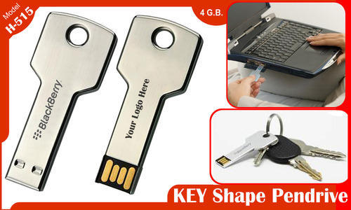 Key Shaped Pen Drive
