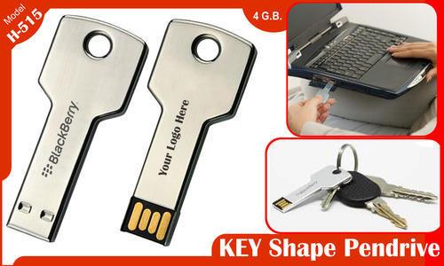 Key Shaped Pen Drive