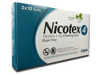 Nicotex 4 mg Chewing Gums