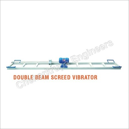 Double Beam Screed Vibrator