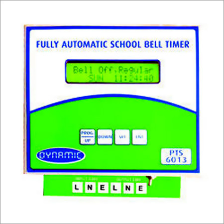 Fully Automatic School Bell Timer