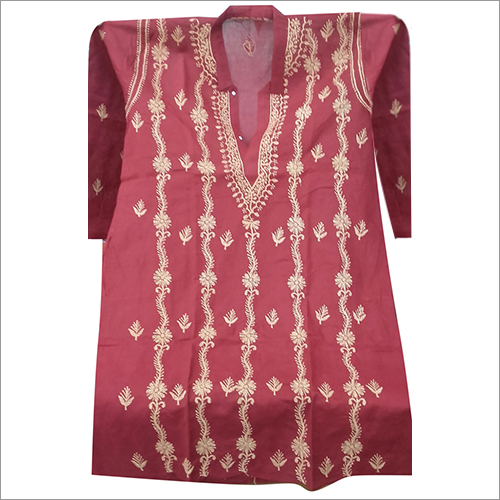 Stylish Design Chikan Kurta