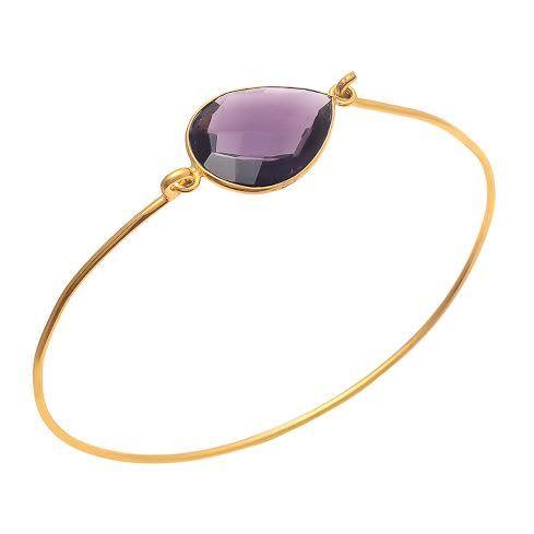 Amethyst Gemstone Bracelete