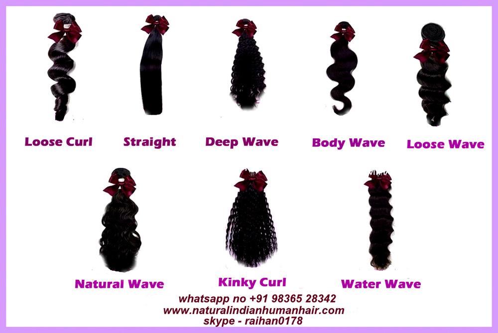 Different Machine Wave Hair