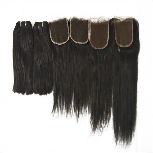 Raw unprocessed bulk human hair