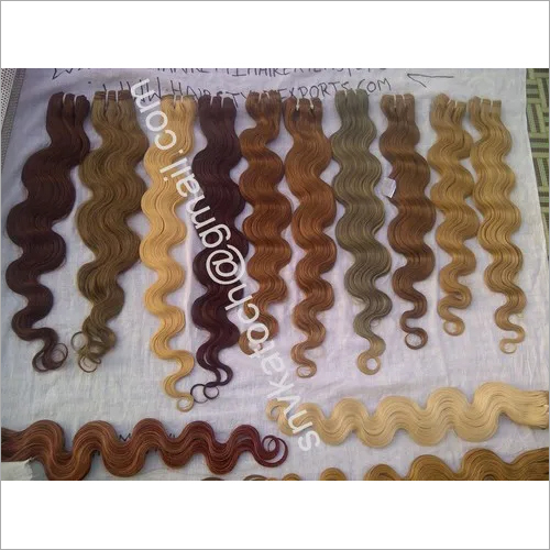 Wholesale Virgin Blond hair