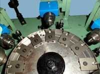 Brass Electrical Contact Machine