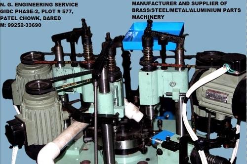Brass Insert Threading Machine