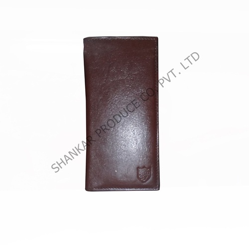 Men's Bi-fold Leather Credit Card Holder