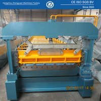 Aluminium Metal Roof Sheet Roll Forming Machine