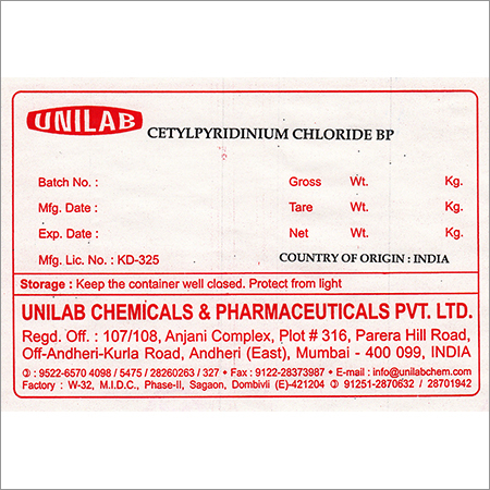 Pharmaceutical Chemical