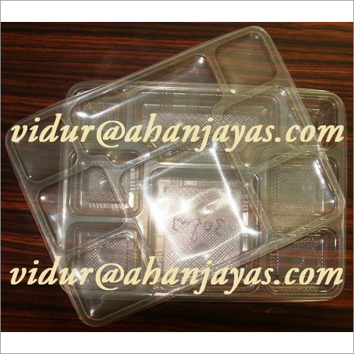 PP 8CP Meal Tray With LID