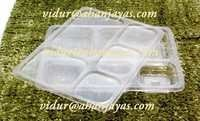PP 5CP Meal Tray With Lid