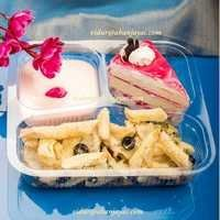 Premium Cold Meal Tray Without Lid