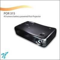 45 Lumens battery powered pico Projector