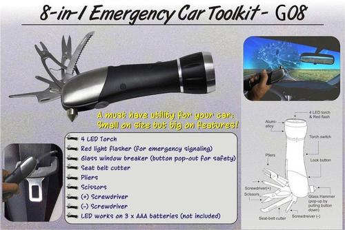 Emergency Car Toolkit