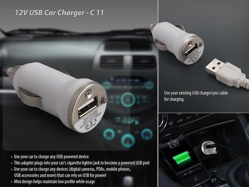 Car Charger USB 12 V