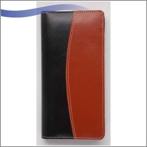 Cheque Book Folder with Zip