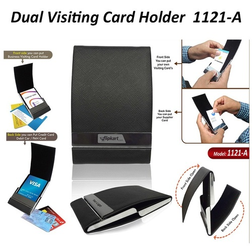 Dual Business Visiting Card Holder 1121A