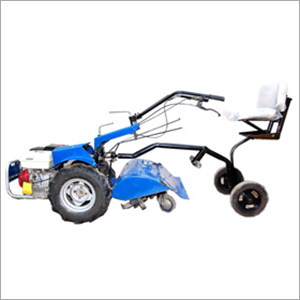 Power Weeder with Sitting Arrangement