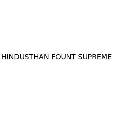 Hindusthan Fount Supreme