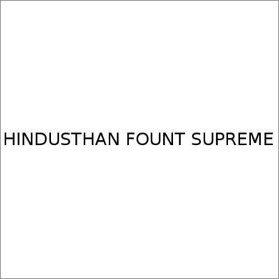 Hindusthan Fount Supreme