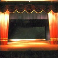 Manual Operated Stage Curtains