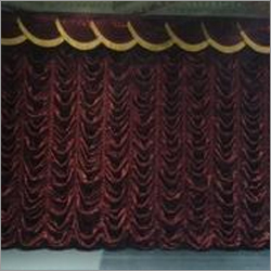 Motorized Austrian Curtain