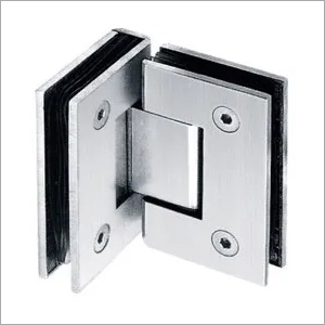 90* Glass To Glass Shower Hinge