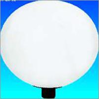 Integral Hid Lamppost Top Lanterns
