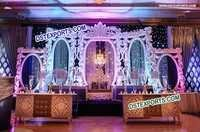 Latest Design Wedding Back Wall Frames Panels