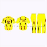 Custom Cricket Uniform Design