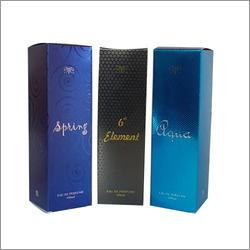 Metallic Perfume Packaging Boxes