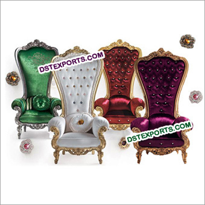 Latest Wedding High Back Bridal Chairs