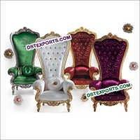 Latest Wedding High Back Bridal Chairs