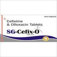 SG Cefixime O Tablets