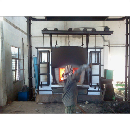 Commercial Aluminium Melting Furnace