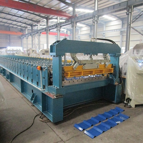 Sheet Metal Bending Roll Forming Machine