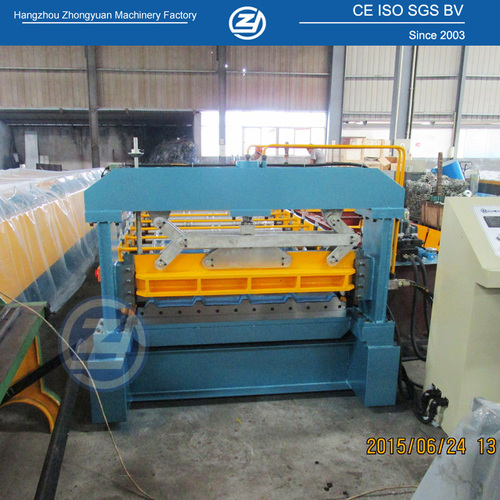 Roof Sheet Metal Bender Machine