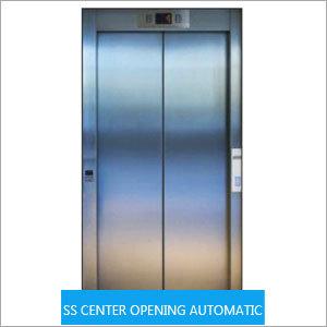 Center Opening Elevator Door
