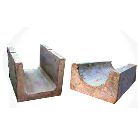 Precast Half Round Square Pipe Product