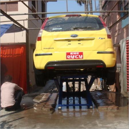 Car Wash Lift - Electrohydraulic