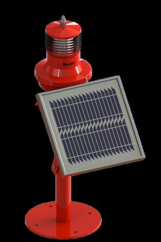 Low Intensiting LED Solar Aviation Obstruction Light M ALL SL 310 (Single)
