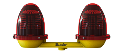 Red M Led 60 Twin Led Aviation Obstruction Light
