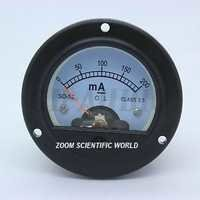 Moving Coil Panel Meter Round