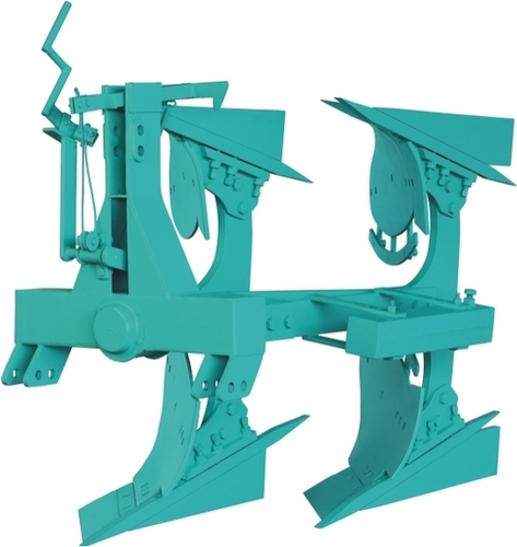 Heavy Duty Reversible Plough