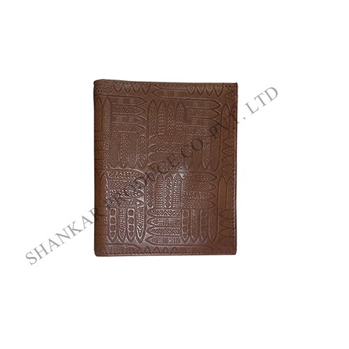 Mens Bi-Fold Leather Wallet