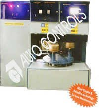 Two Head Rotating Induction Brazing machine.
